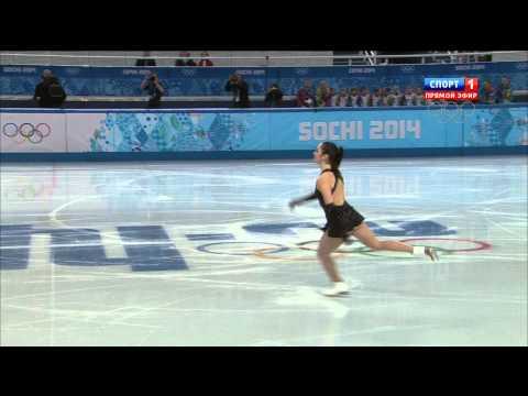2014 Olympics Team Ladies SP OSMOND Kaetlyn CAN