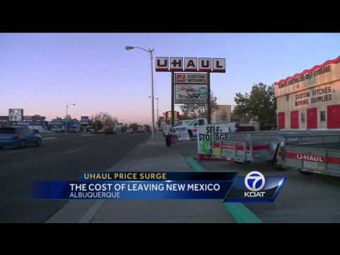The Cost of Leaving New Mexico