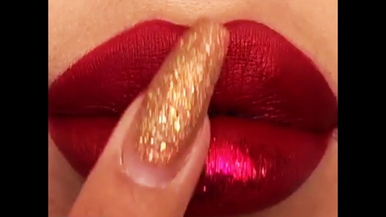 Lipstick Tutorials 2019 ???? New Amazing Lip Art Ideas #63