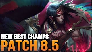 New Best Champions in Patch 8.5 SEASON 8 for Climbing in EVERY ROLE (League of Legends)