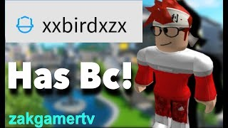 ROBLOX ACCOUNT GIVEAWAY (WITH BC) 2019