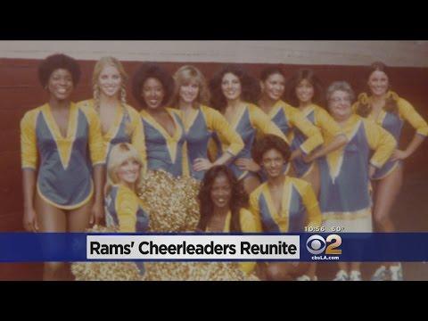 Original LA Rams Cheerleaders Re-Unite And It Feels So Good