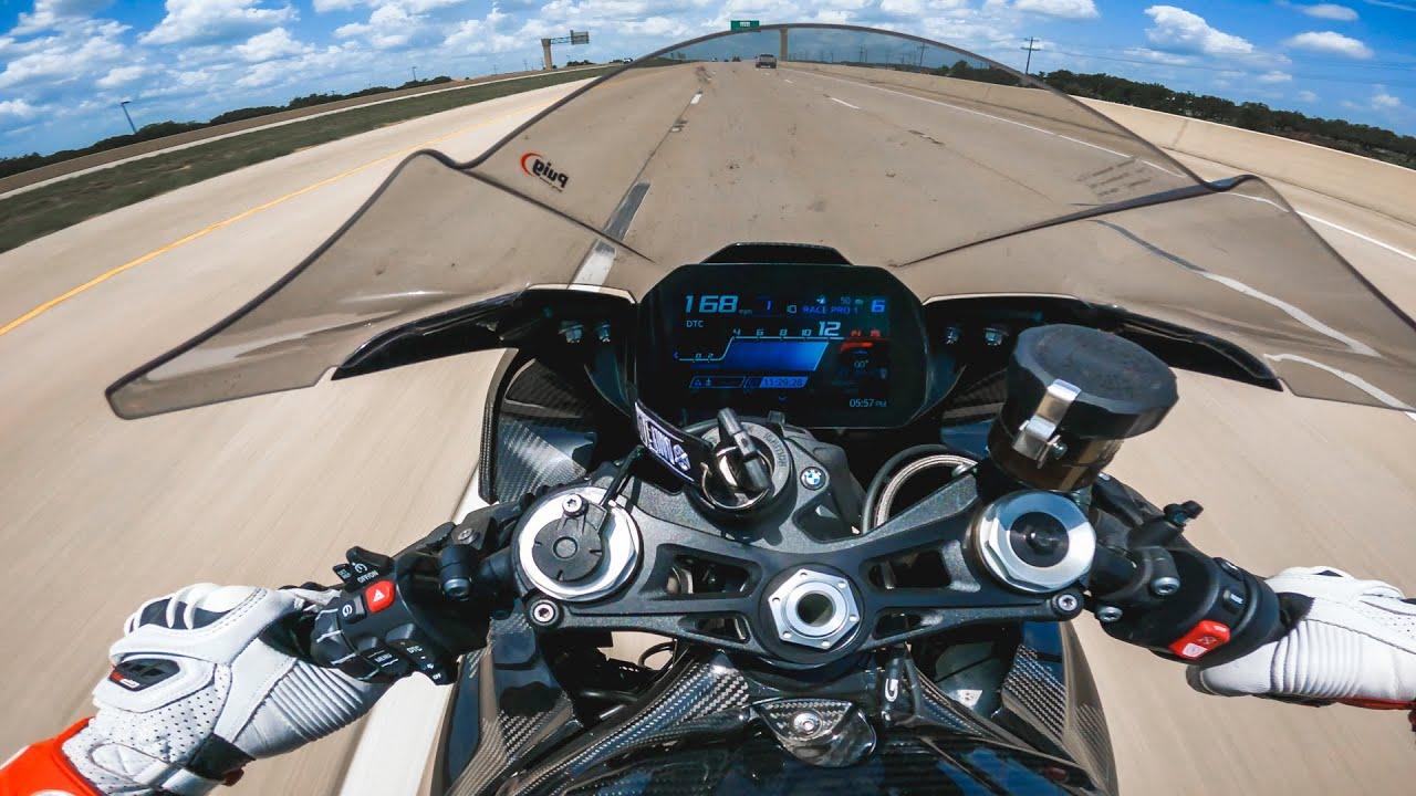 BMW S1000RR TOP SPEED CHALLENGE