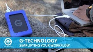 G-Technology | Mit Portable-Laufwerke Erstellen Sie Einfache Workflows