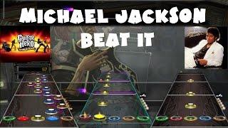 Michael Jackson - Beat It - Guitar Hero World Tour Expert Full Band