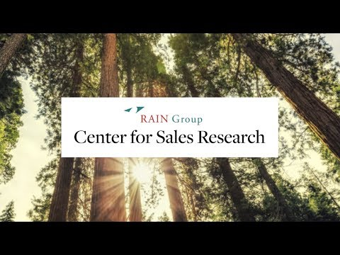 Sales Research, Data, And Advice To Improve Sales Performance