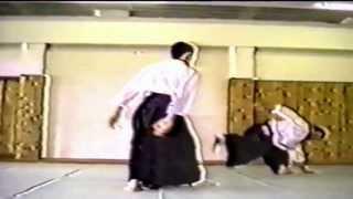 Aikido with Takeda Shihan at Higashi Totsuka Dojo