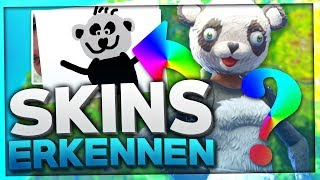 Do YOU recognize these FORTNITE SKIN DRAWINGS? ➡️✏️ *PART*   Fortnite Battle Royale Quiz English