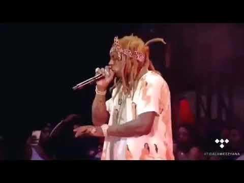 Lil Wayne Freestyles Over The Best Rapper A