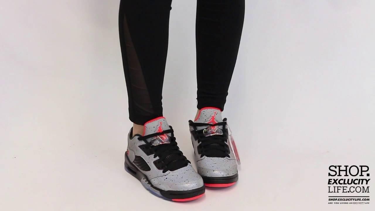 d83e1ec28a0 Women's BG Air Jordan 5 Low Retro