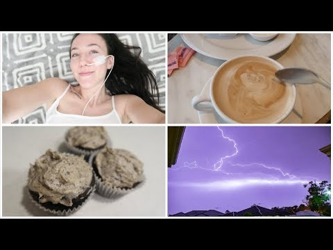 ♡ Crazy Storm! + Making Cupcakes & Coffee Dates! (22.04.18) | Amy's Life ♡