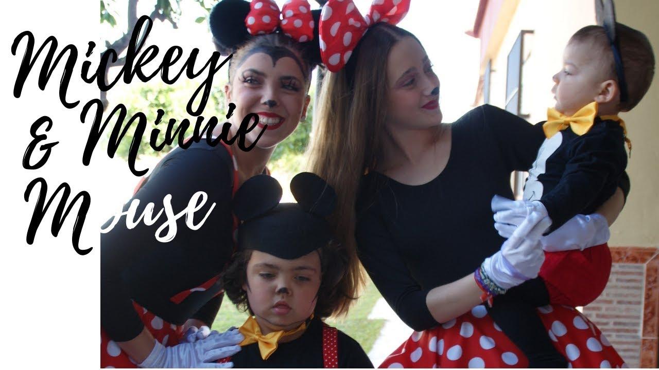 Disfraz de Mickey y Minnie Mouse🐁| Melo Sailor (feat. Daniel & Bebé) -  YouTube