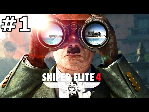 "SNIPER ELITE 4 Gameplay Walkthrough Part 1 Co-Op ""San Celini Island"" PC 1080p 60fps"