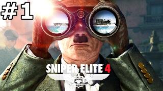 "SNIPER ELITE 4 Gameplay Walkthrough Part 1 Co-Op ""San Celini Island"" PC 1080p 60fps"