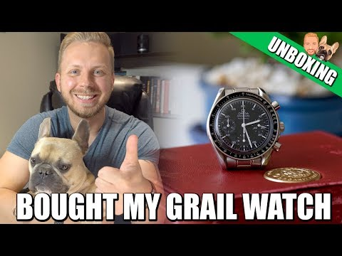 Grail Watch Unboxing - Omega Speedmaster Reduced 3510.50