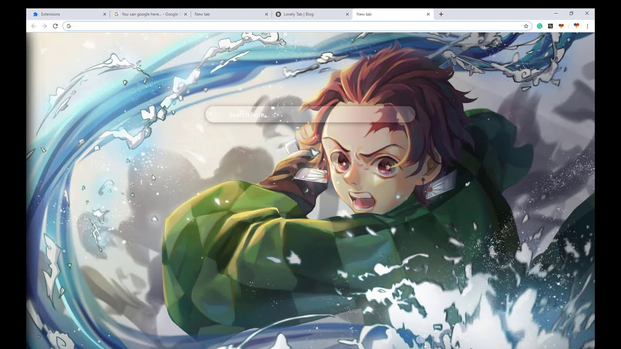 Kimetsu No Yaiba Anime Wallpaper Collection Chrome Theme Try Now