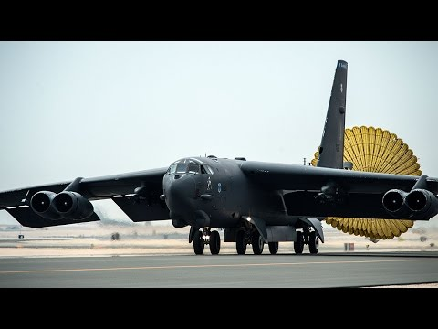 Veteran Boeing B-52 Bomber Joins the Fight Against ISIS – AINtv