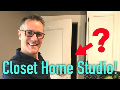 How to Turn a Crappy Closet Into a Home Recording Studio on a Budget