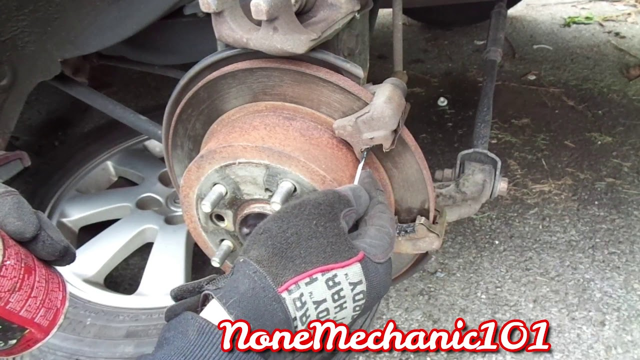 2003 Toyota Camry Rear Brake Pads Replacement