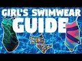 Girl's Swimwear Guide
