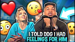 I TOLD DDG I HAD FEELINGS FOR HIM.. (I KISSED HIM) | Woah Vicky