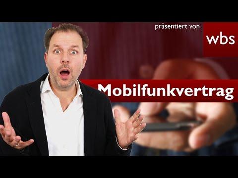 Weiter bezahlen trotz gekündigtem Mobilfunkvertrag? | Rechtsanwalt Christian Solmecke