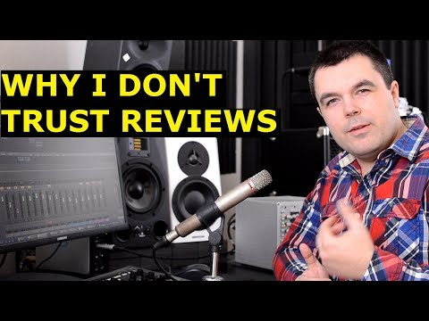 Music Software Reviews, Audio Plugin Reviews, Studio Gear Reviews - Why I Don't Trust Them (2019)