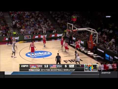 USA vs SERBIA: 2014 FIBA World Cup Championship Game
