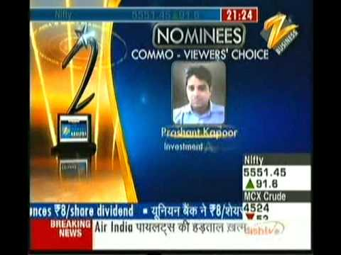 Shiv Shrivastava:Best Commodity Analyst of India