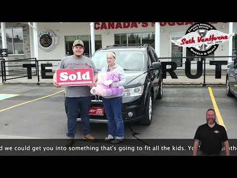 2018 Dodge Journey | Tyler and Tiffany Levesque | Wheels & Deals Used Cars & Powersports Fredericton