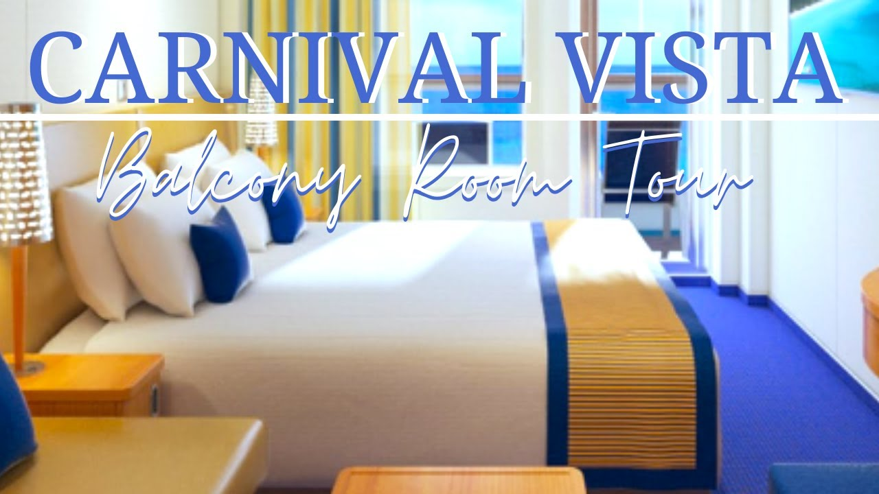 Cruise Tip Room tour on the Carnival VISTA Carnival Cruise Line