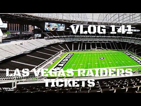 Las Vegas Raiders Tickets - Vlog 141