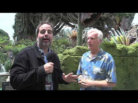 Pandora World of Avatar James Cameron Interview