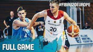 Germany v Iceland - Full Game - Classification 7-8 - FIBA U20 European Championship 2017