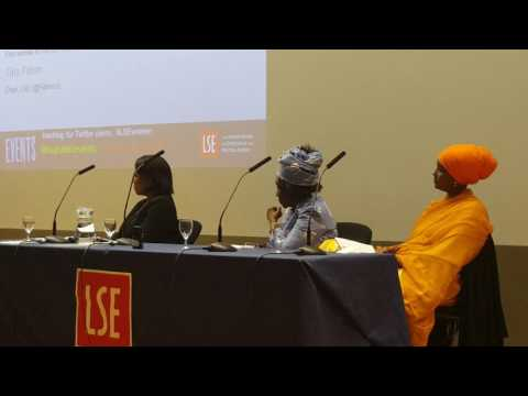 Dr Joice Mujuru At London School of Economics and Politics
