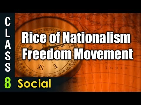 Rice of Nationalism Freedom Movement | 8th Class Social  | Digital Teacher