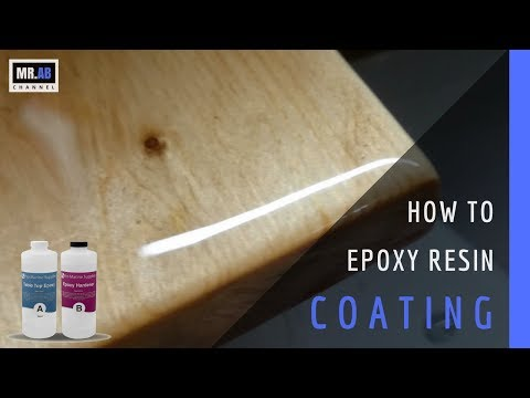 Epoxy Resin Coating Wood