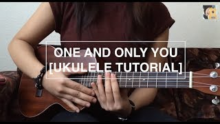 One and only you (Your song) - Parokya ni Edgar (Ukulele Tutorial)