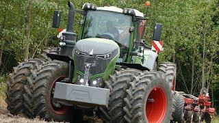 Fendt 1050 Vario Going Deep in Hard Clay Soil Seeding w/ Horsch Focus 6TD | DK Agriculture
