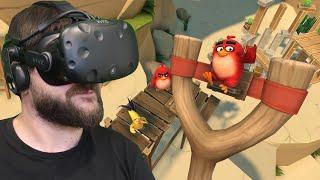 Wściekłe PTAKI wracają! - Angry Birds VR: Isle of Pigs (HTC VIVE VR)