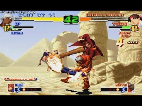 FightCade - KoF 2000 - Sn4KE (Chile) vs Shagami (Brazil)