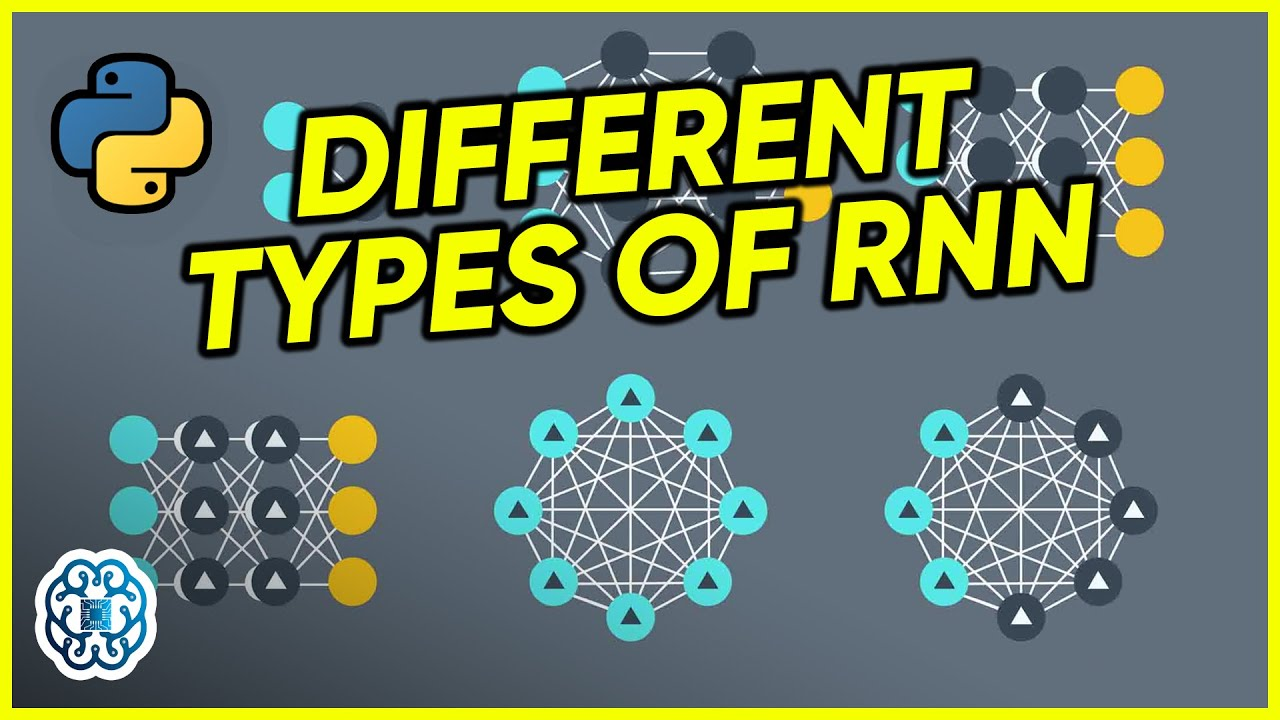 Different types of RNN - Recurrent Neural Networks