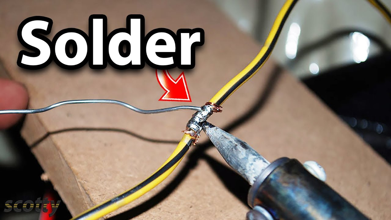 Fixing Bad Car Wiring Yourself : soldering iron for automotive wiring - yogabreezes.com