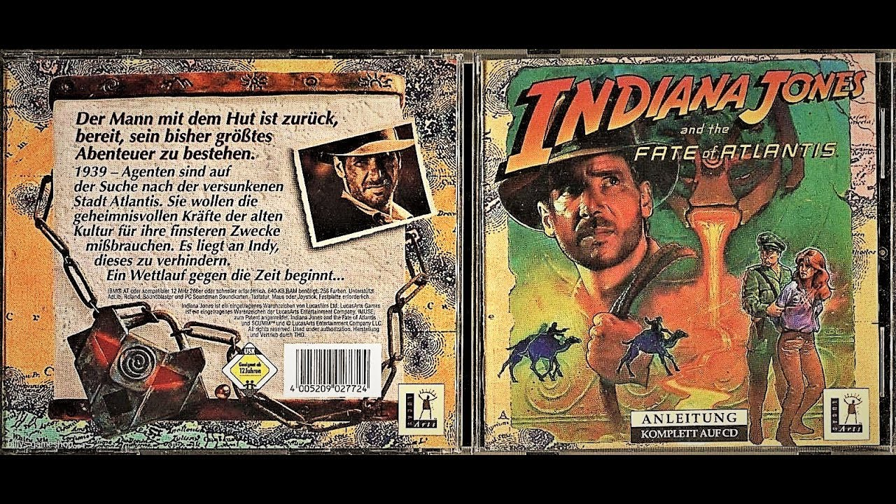 Let S Play Indiana Jones And The Fate Of Atlantis Part 2 Youtube