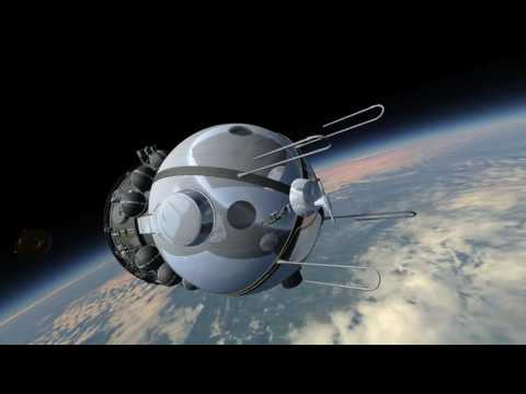 Vostok 1 - First Human In Space (Kerbal Space Program - RSS/RO)