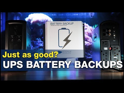 The Power Is Out. How Many Hours Does Your Tank Have? UPS Vs. DC Backup!