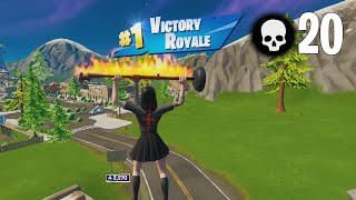 High Elimination Solo Aręna Win Smooth Gameplay Full Game   Fortnite Season 8 [4K 240 FPS]