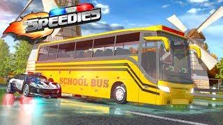 Wheels On The Bus | Nursery Rhymes For Babies | Speedies Car Cartoons