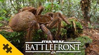 ПАСХАЛКИ ОГРОМНЫЙ ПАУК - Star Wars Battlefront Easter Eggs