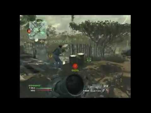 MW3: INSANE no-scope trickshot TuR7LeZzJnr